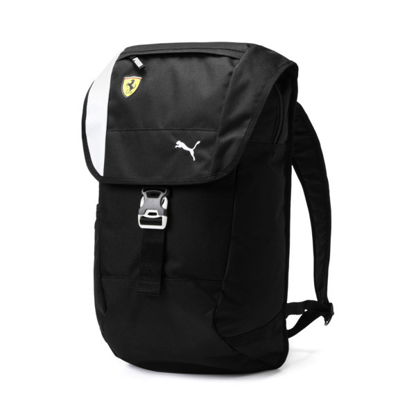 Ferrari Fan Rucksack, Puma Black, large