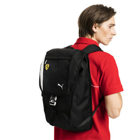 Thumbnail 2 of Scuderia Ferrari Fanwear Backpack, Puma Black, medium