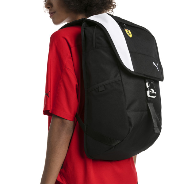 Scuderia Ferrari Fanwear Backpack, Puma Black, large