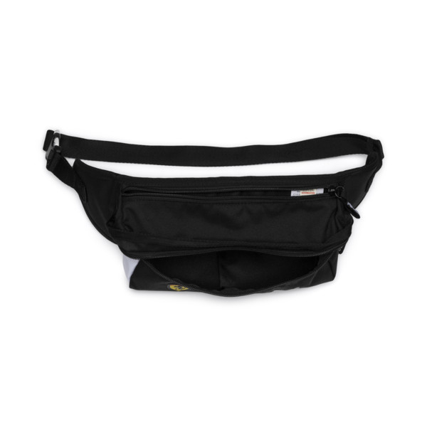 Ferrari Fan Waist Bag, Puma Black, large
