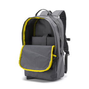 Thumbnail 3 of Red Bull Racing Lifestyle Backpack, Smoked Pearl-Blazing Yellow, medium