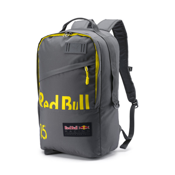 Red Bull Racing Lifestyle Backpack, Smoked Pearl-Blazing Yellow, large
