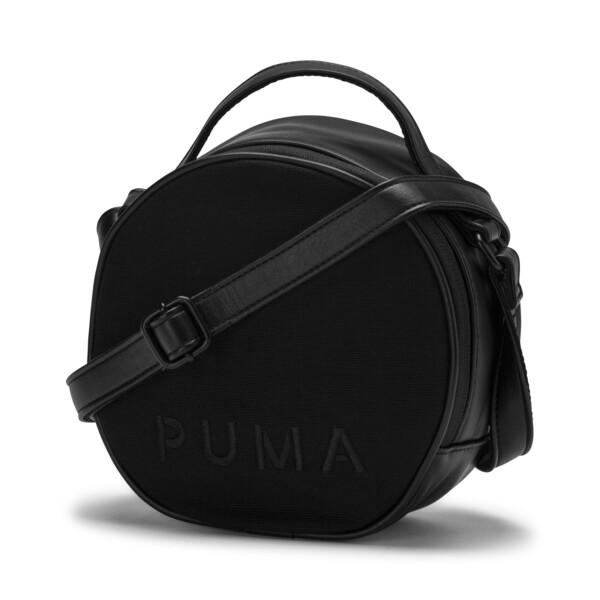 Sac bandoulière Prime Classics rond pour femme, Puma Black, large
