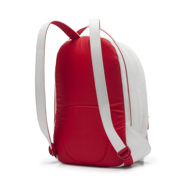 Archive Women's Backpack, Puma White-Hibiscus, large