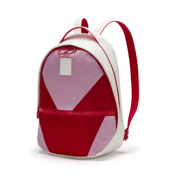 Prime Time Archive Backpack, Puma White-Hibiscus, large