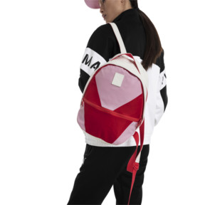 Thumbnail 2 of Prime Time Archive Backpack, Puma White-Hibiscus, medium