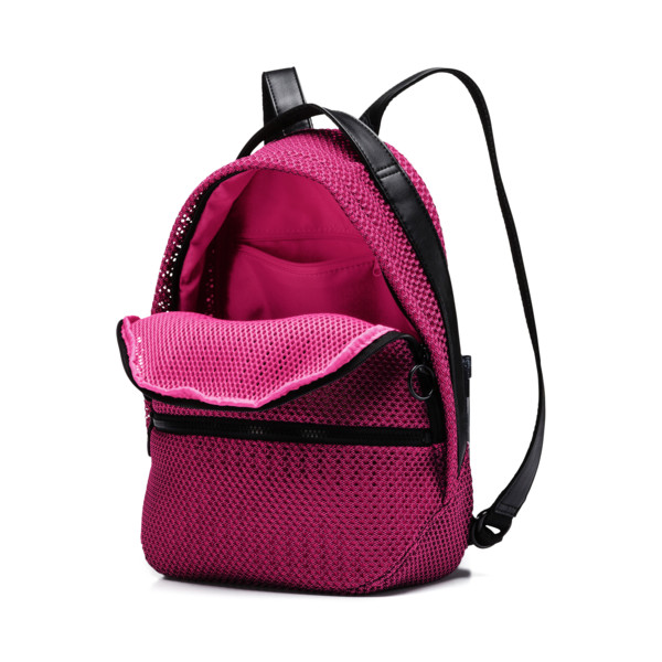 Prime Time Archive Women's Backpack, Fuchsia Purple-Puma Black, large