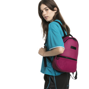 Thumbnail 2 of Prime Time Archive Women's Backpack, Fuchsia Purple-Puma Black, medium