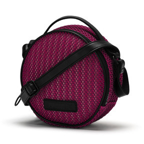 Thumbnail 1 of Prime Time Festival Round Shoulder Bag, Fuchsia Purple-Puma Black, medium
