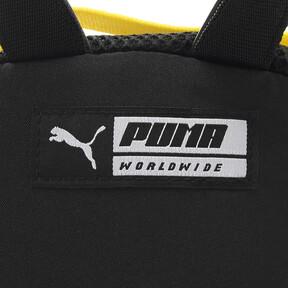 Thumbnail 9 of ウィメンズ プライム ストリート アーカイブ バックパック (7L), Puma Black-Blazing Yellow, medium-JPN