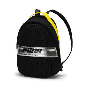 Thumbnail 1 of Prime Street Backpack, Puma Black-Blazing Yellow, medium