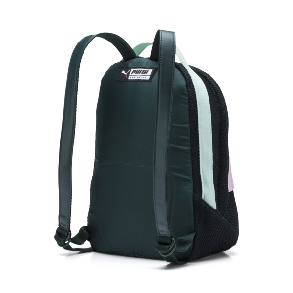 Women's Street Backpack, Ponderosa Pine-Fair Aqua, large