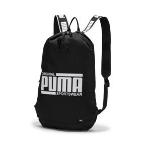 Sports & Entertainment Humor New Arrival Puma Originals Large Capacity Grid Backpack Unisex Big Backpacks Black And White Sports Bags