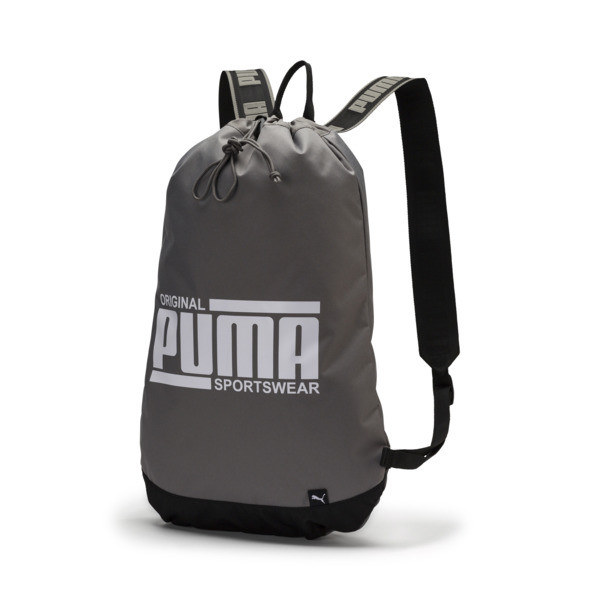 プーマ ソール スマートバッグ (18L), Charcoal Gray-Puma White, large-JPN