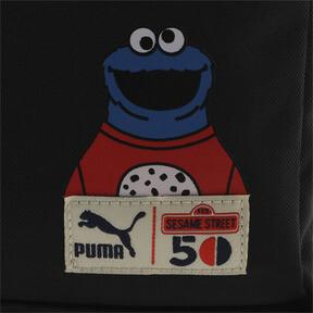 Thumbnail 4 of キッズ PUMA x SESAME STREET バックパック スポーツ (20L), Puma Black, medium-JPN