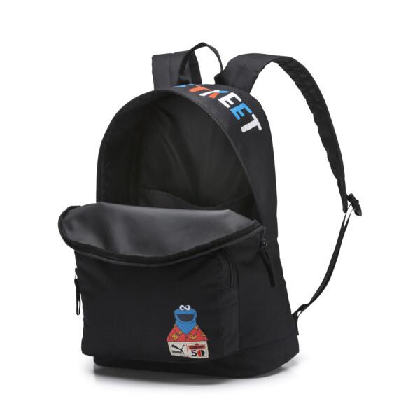 Sesame Street Sport Backpack, Puma Black, large