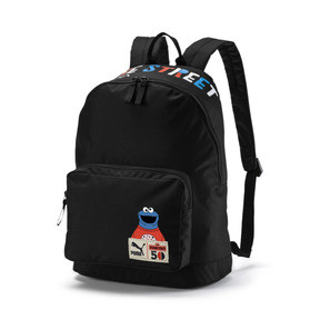 Thumbnail 1 of Sesame Street Kids' Backpack, Puma Black, medium