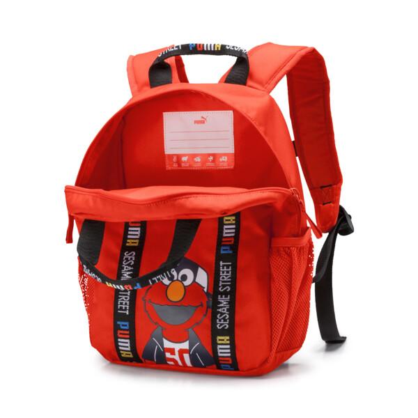 Sesame Street Kids' Backpack, Cherry Tomato, large