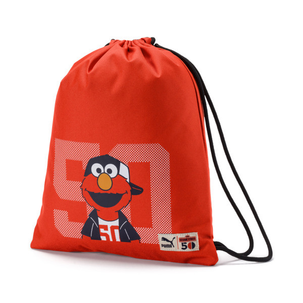 Sesame Street Gym Sack, Cherry Tomato, large