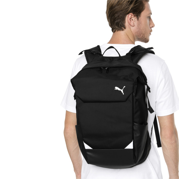 Street Backpack, Puma Black, large