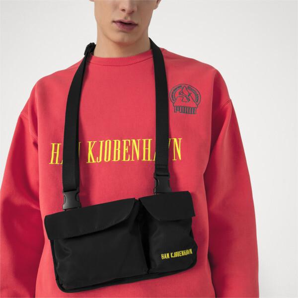 PUMA x HAN KJØBENHAVN Classic Backpack, Puma Black, large