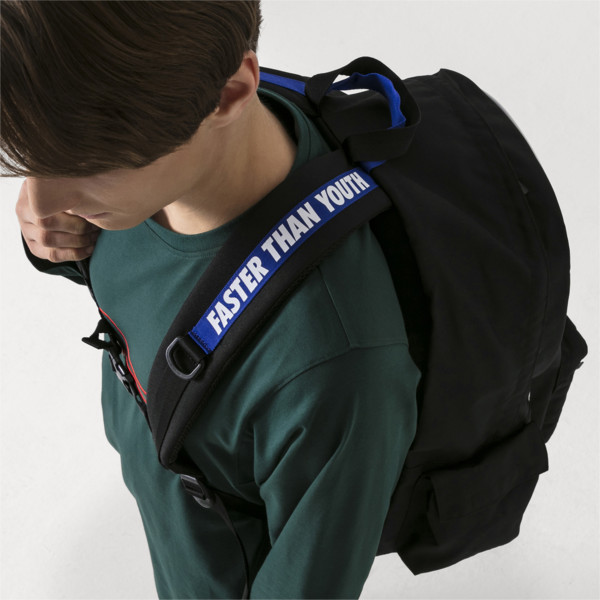 PUMA x ADER ERROR Backpack, Puma Black, large