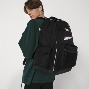 Climbing Bags Collection Here New Arrival Puma Originals Large Capacity Grid Backpack Unisex Big Backpacks Black And White Sports Bags Beautiful And Charming Sports & Entertainment