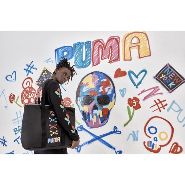 PUMA x BRADLEY THEODORE Tragetasche, Puma Black, large