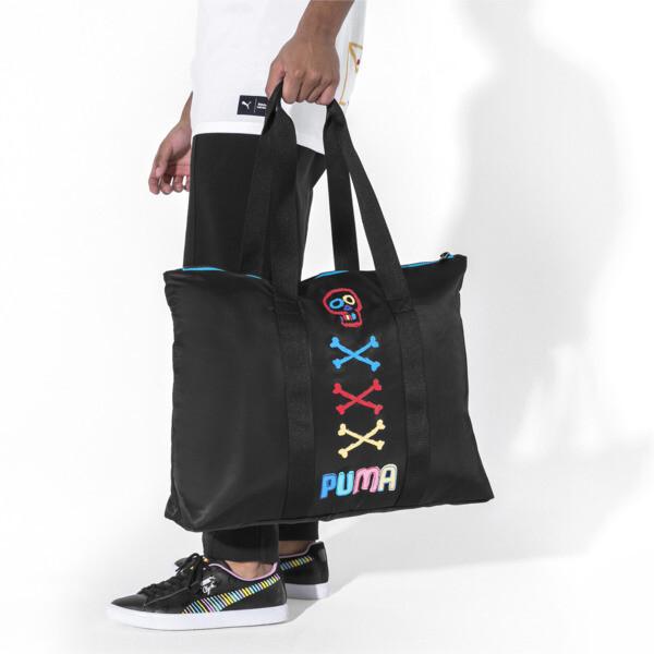 PUMA x BRADLEY THEODORE Tote Bag, Puma Black, large