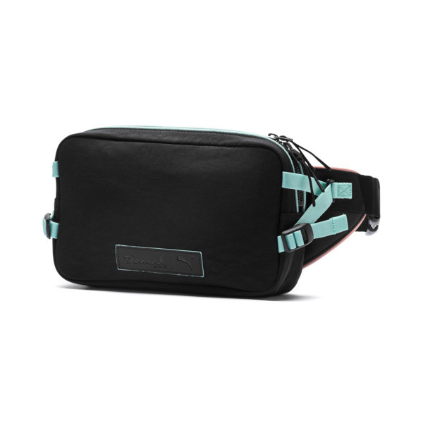 PUMA x DIAMOND Crossbody Bag, Diamond Blue-AOP, large