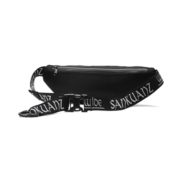 PUMA x SANKUANZ Bum Bag, Puma Black, large