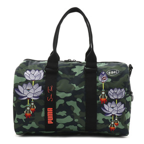 Thumbnail 10 of PUMA x SUE TSAI WOMEN'S  DUFFLE (23L), Puma Black-AOP, medium-JPN