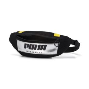 Thumbnail 3 of Prime Street Waist Bag, Puma Black-Blazing Yellow, medium