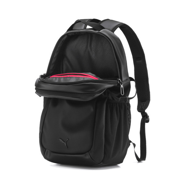 Ferrari Lifestyle Backpack, Puma Black, large
