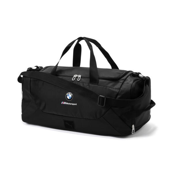 BMW M Motorsport Duffel Bag, Puma Black, large