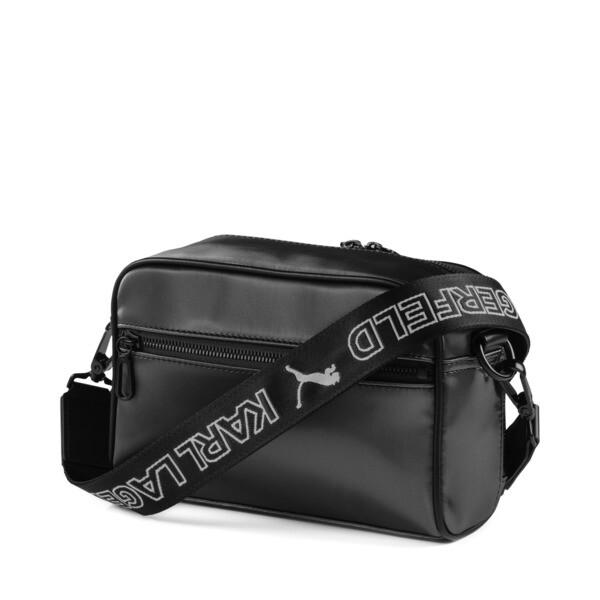 PUMA x KARL LAGERFELD Small Shoulder Bag, Puma Black, large