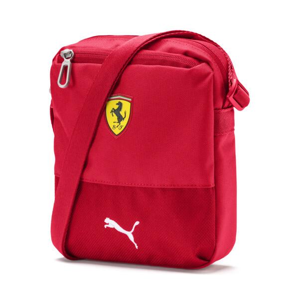 Sac bandoulière Ferrari Replica compact, Rosso Corsa, large