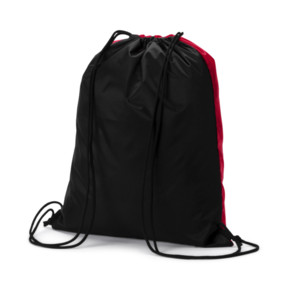 Thumbnail 2 of AC Milan Gym Sack, Tango Red-Puma Black, medium