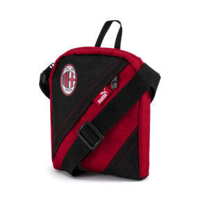 Thumbnail 1 of AC Milan City Shoulder Bag, Tango Red-Puma Black, medium