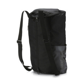Thumbnail 2 of Training Essentials Transform Duffle Bag, Puma Black, medium