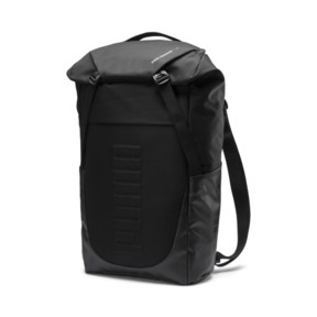 Thumbnail 3 of Training Essentials Transform Duffle Bag, Puma Black, medium