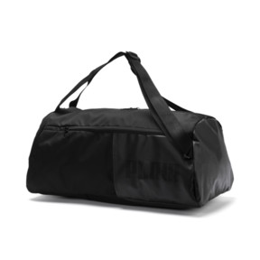 Thumbnail 1 of Training Essentials Transform Duffle Bag, Puma Black, medium