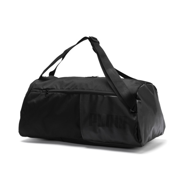 Training Essentials Transform Duffle Bag, Puma Black, large