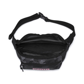 Thumbnail 3 of Deck Small Waist Bag, Puma Black-Camo AOP SL9, medium