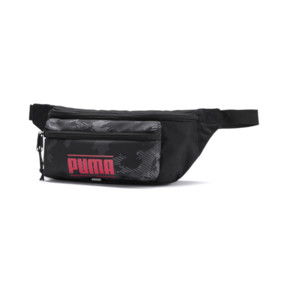 Thumbnail 1 of Deck Small Waist Bag, Puma Black-Camo AOP SL9, medium