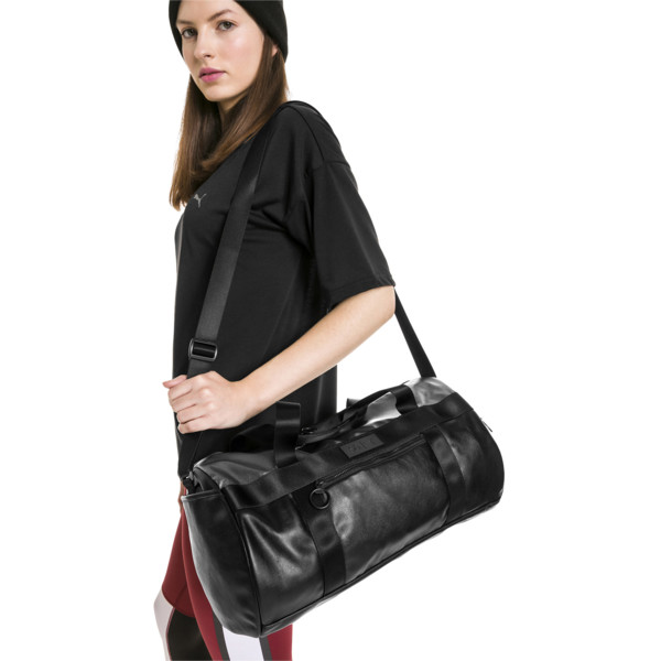 PUMA x SELENA GOMEZ Style Women's Barrel Bag, Puma Black, large