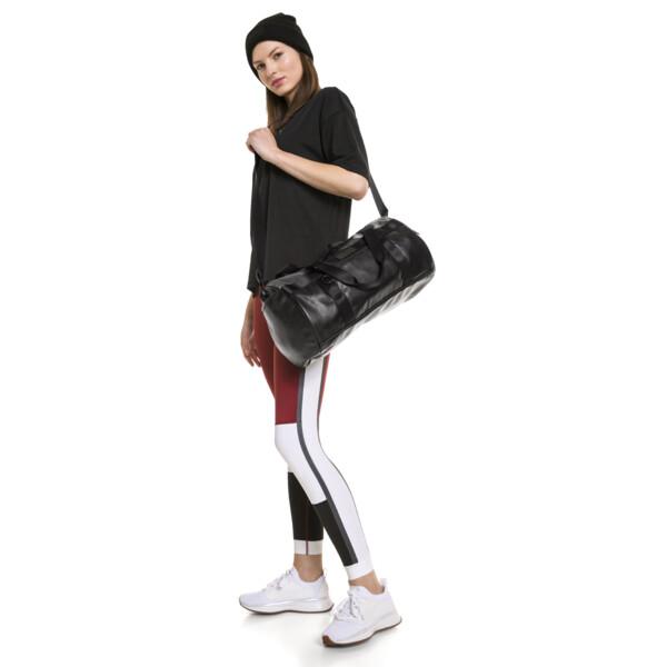 SG x PUMA Style Barrel Bag, Puma Black, large