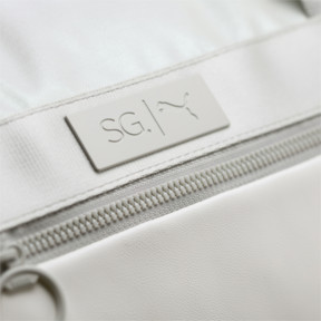 Thumbnail 3 of SG x PUMA Style Barrel Bag, Puma White, medium