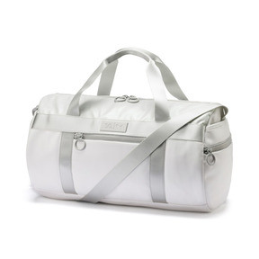Thumbnail 1 of PUMA x SELENA GOMEZ Style Women's Barrel Bag, Puma White, medium
