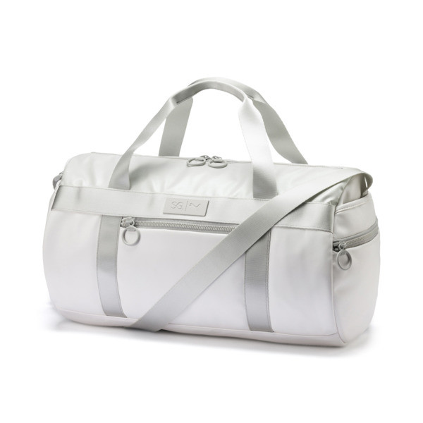 PUMA x SELENA GOMEZ Style Women's Barrel Bag, Puma White, large